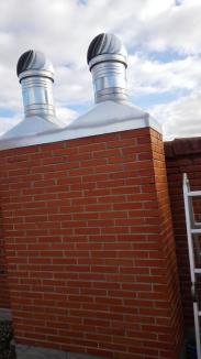 extractor eólico y tolva